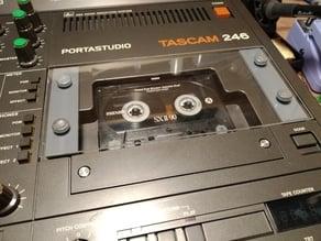 Cassette door for Tascam 246 portastudio