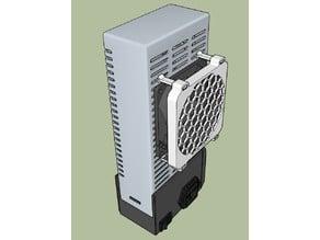Prusa i3 MK2S 80mm PSU Fan Mount (2 options)