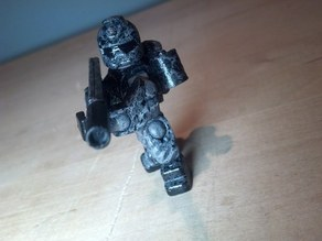 JumpJet Commando  - Open Source Minifig