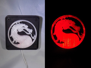 Mortal Kombat LED Light/NightLight