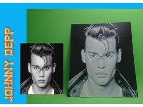 Dibujo Johnny Depp