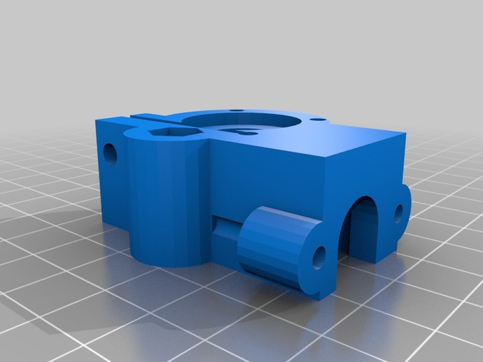3mm Extruder For Makergear M2 By Xezerk Thingiverse