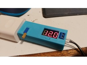 Case for USB boost buck converter with adjustable variable voltage output