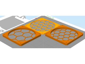 70mm Honeycomb Fan Grill (Customized)
