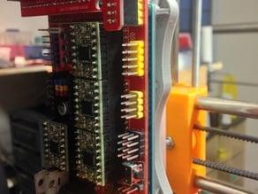 Arduino MEGA + RAMPS holder (T-slot frame) + K8200 rail adapt
