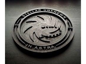 Elite Dangerous - Stellar Unknown Expedition Coin
