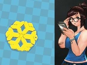 Mei Overwatch Snowflake bracelet
