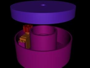 Robot arm rotating base, bearing servo turntable 360