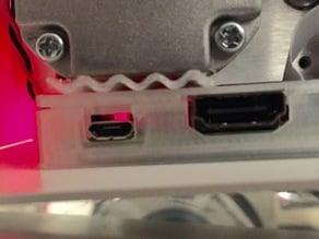 Internal RPi Retaining Clip for Printrbot Simple Metal Gen1