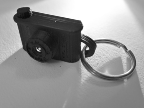 Mini P6*6 Pinhole Camera Keyring
