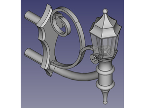 Model Walllamp for H0 - 1:87