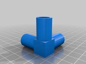 3-way pipe elbow joint for photo lightbox