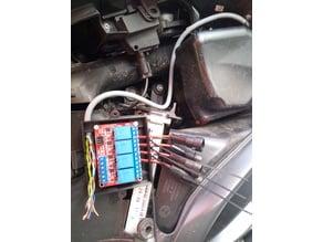 Boite relais 12V moto