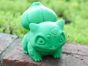 High-Poly Realistic Bulbasaur