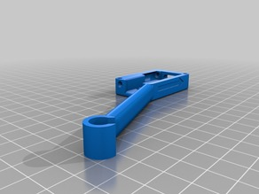 Filament Sensor Case with arm for Filament Support