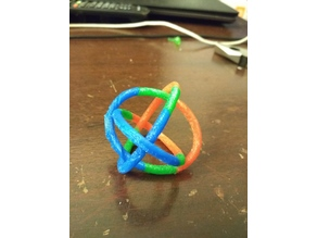 Borromean rings with Support (printable version)