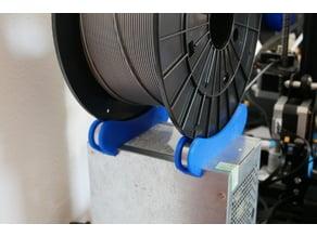 TUSH spool holder for ATX power supply