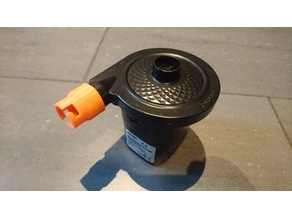 Customizable air pump valve adapter