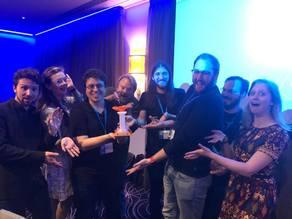 DevWorld 2018 Quiz Dinner Trophy