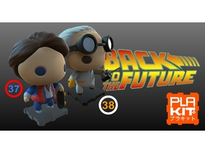 Back To The Future Marty & Doc Brown Pack