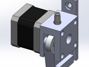 direct drive bowden extruder for 1.75 mm filament