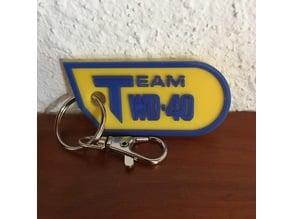 WD-40 keychain
