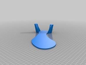 Prototype drop foot orthosis.