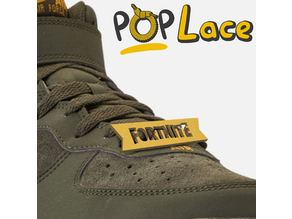 FORTNITE LOGO - ACCESSORY FOR SHOE LACE - POPLACE