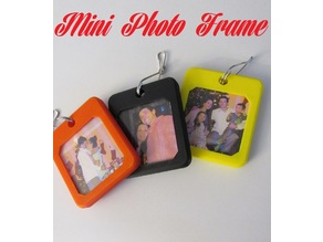 Mini Keychain Photo Frame