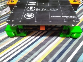Squash ball vibration dampening for Prusa MK2 / MK2S / MK2.5 v3