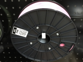 Pegboard filament spool holder