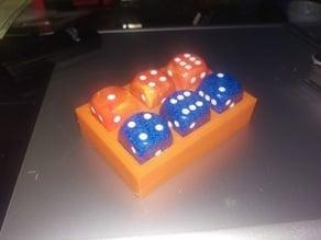 6 Piece D6 holder