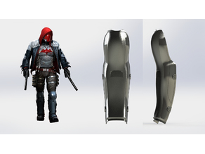 Arkham Knight Red Hood shin
