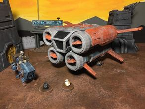 Quadjumper (Star Wars Legion scale)