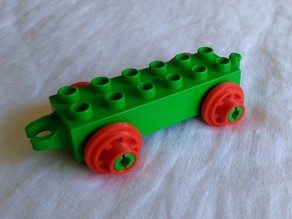 Duplo train wheel (remix)