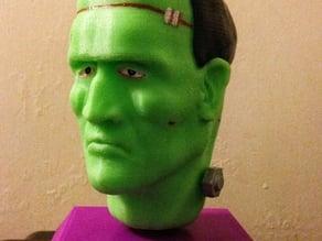 Frankie Stein - Head Sculpt with Stand