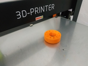 3D Printable 6204 bearing