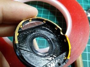Moto 360  back cover.