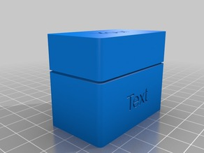 Customizable organization box with separators V2