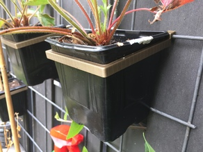 Outdoor plant holder / wall mount