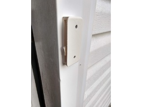 French Door Screen Handle Latch End Piece