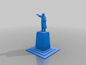 Erich Naumann Statue