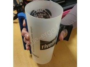 OT student project : modular glass handle helper / poignée de préhension modulaire pour verre.