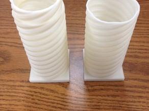 Twisted Spiral Column