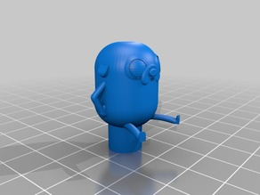 Adventure Time Jake the Dog Extruder Knob for CR-10