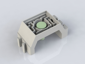 Formicarium - Single Mushroom watering system - Maze style