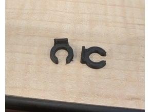 e3d v6 bowden tube clip - 1.9mm thick