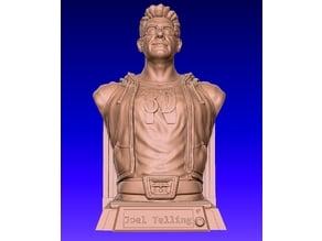 3D Printing Nerd - Joel Telling bust