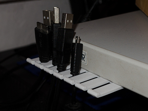 USB cable organizer