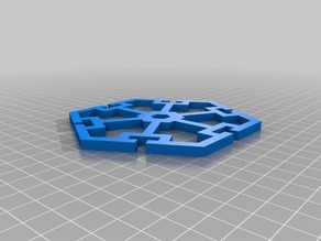 Polygon Board Game - OpenSCAD